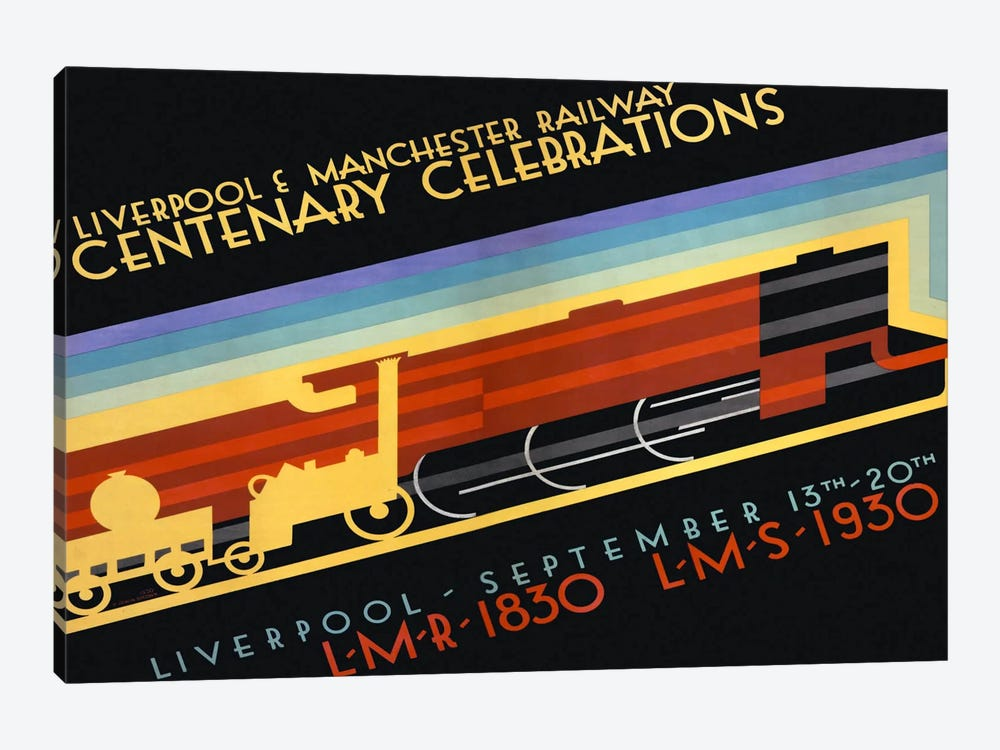 Liverpool & Manchester Railway by Print Collection 1-piece Art Print