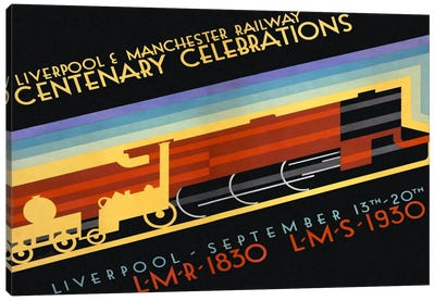 Liverpool & Manchester Railway Canvas Art Print