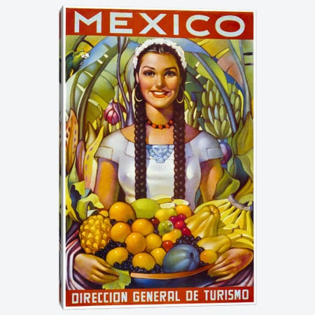 Mexico Canvas Print #PCA356} by Print Collection Canvas Art
