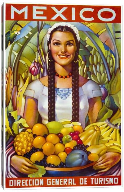 Mexico Canvas Art Print