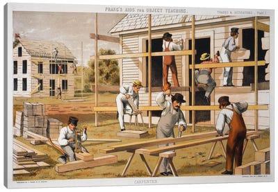 Prang's Carpenter Aid Canvas Art Print