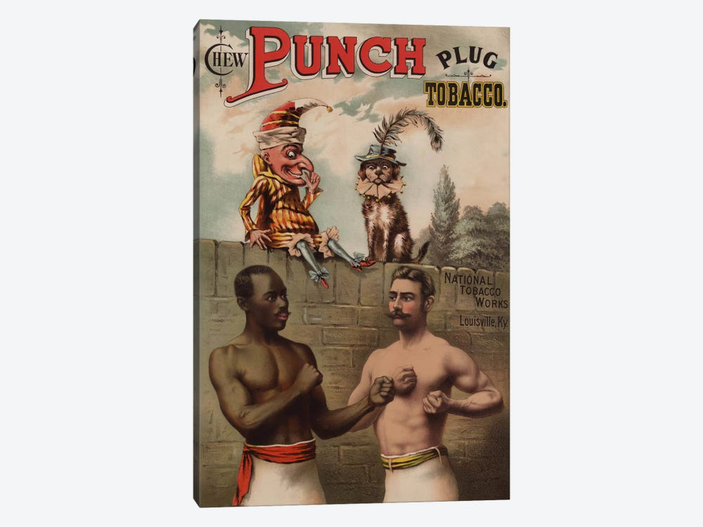 Punch and Chew, 1886 by Print Collection 1-piece Canvas Art