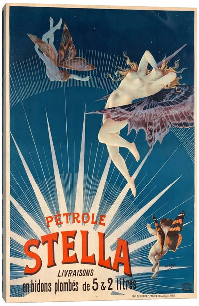 Pétrole Stella Canvas Print #PCA372