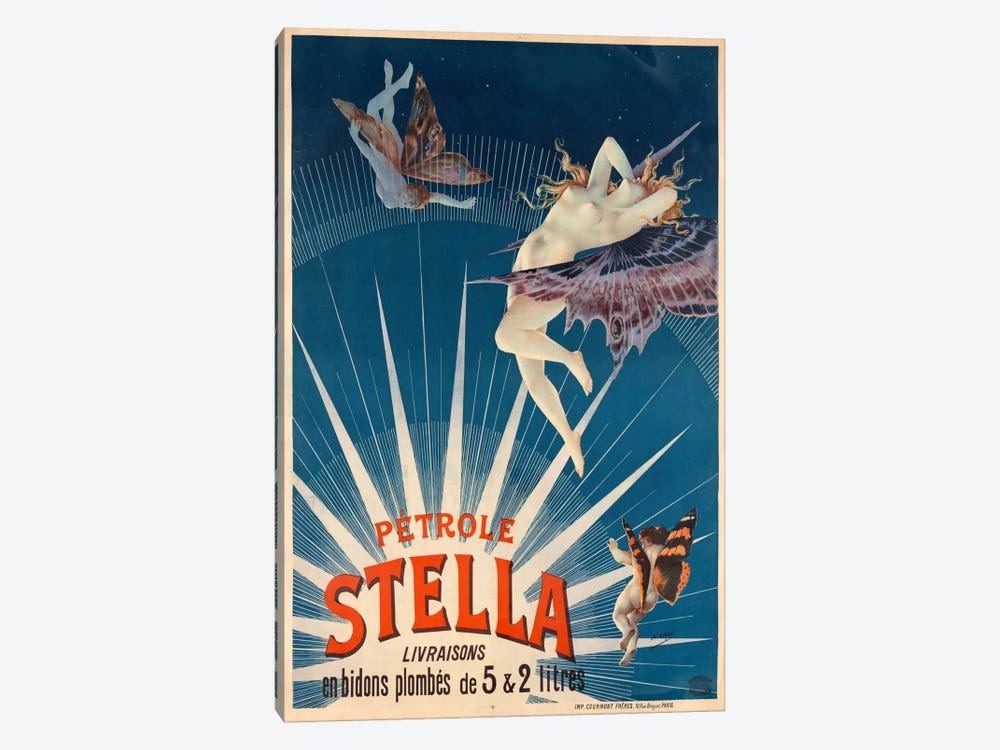 Pétrole Stella by Print Collection 1-piece Canvas Artwork