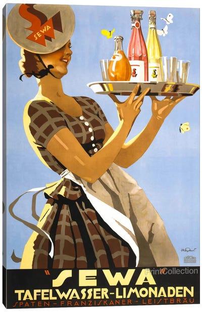 """Sewa"" Tafelwasser-Limonaden Canvas Print #PCA378"