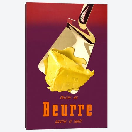 Swiss, Better Butter Canvas Print #PCA381} by Print Collection Canvas Wall Art