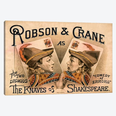 The Knaves of Shakespeare Canvas Print #PCA386} by Print Collection Canvas Art Print