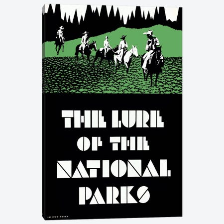 The Lure of the National Parks Canvas Print #PCA387} by Print Collection Canvas Print
