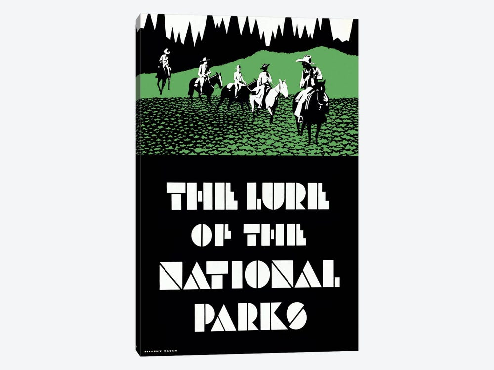 The Lure of the National Parks by Print Collection 1-piece Canvas Art