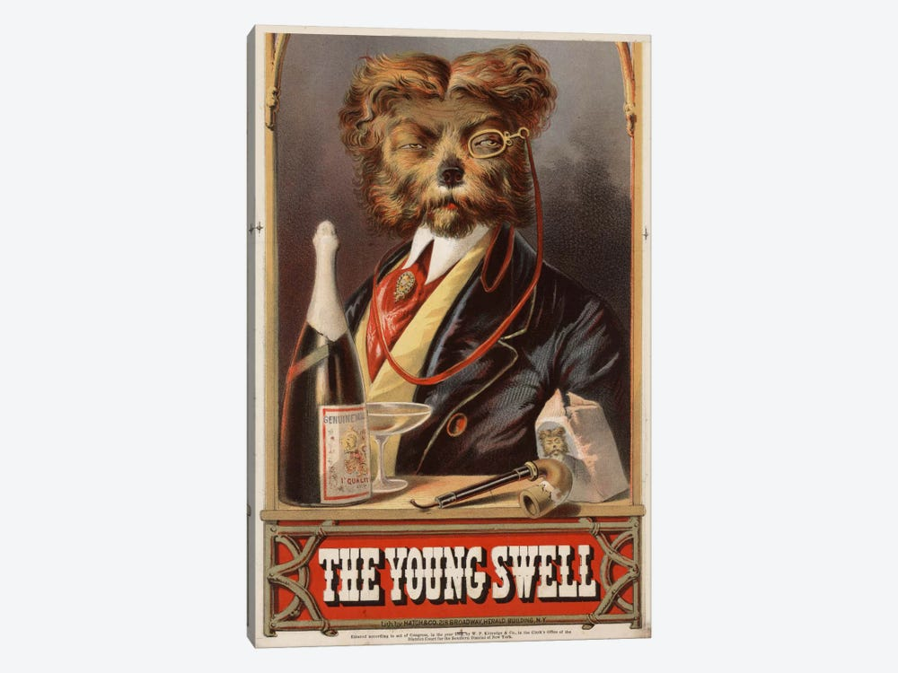 The Young Swell, 1869 by Print Collection 1-piece Canvas Art