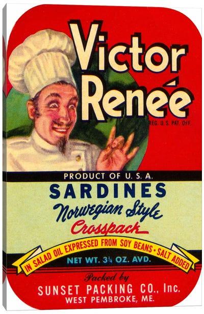 Victor Renée Sardines Canvas Print #PCA394