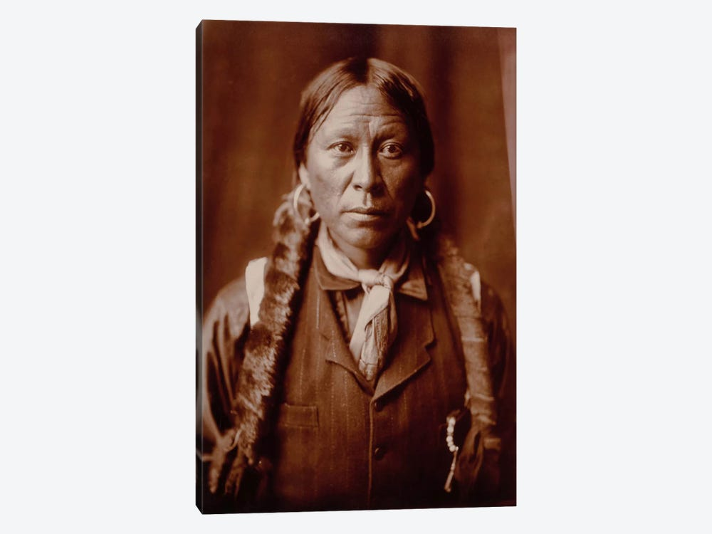 A Jicarilla Man, by Edward Curtis by Print Collection 1-piece Canvas Art Print