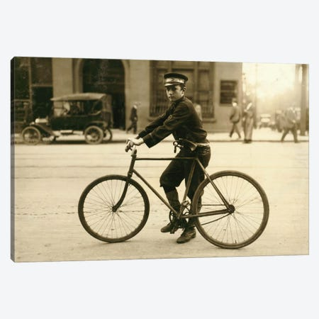 A Typical Birmingham, Alabama Messenger Canvas Print #PCA415} by Print Collection Canvas Art Print