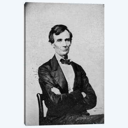 Abraham Lincoln, Candidate for U.S. President Canvas Print #PCA417} by Print Collection Canvas Art Print