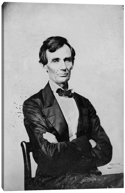 Abraham Lincoln, Candidate for U.S. President Canvas Art Print