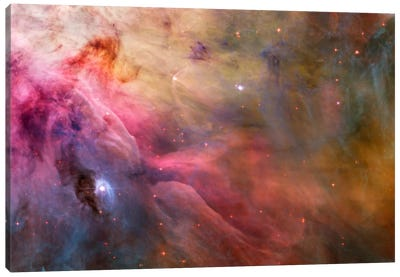 Abstract Art Found in the Orion Nebula Canvas Art Print