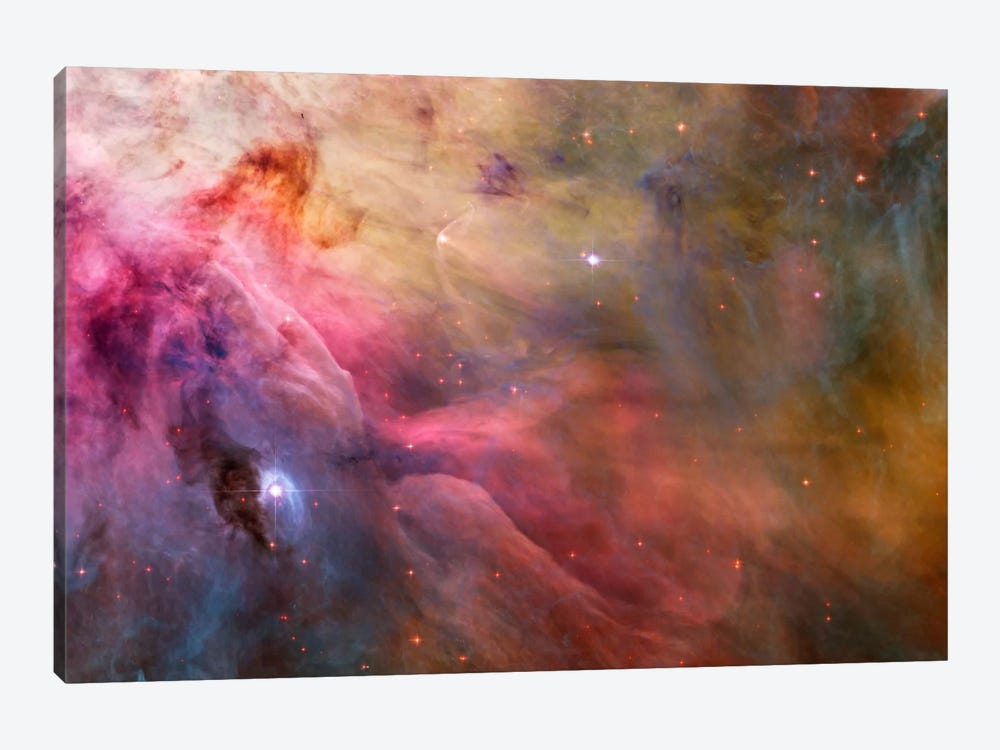Abstract Art Found in the Orion Nebula by Print Collection 1-piece Canvas Art