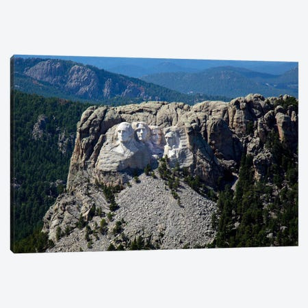 Aerial View, Mount Rushmore Canvas Print #PCA424} by Print Collection Canvas Art