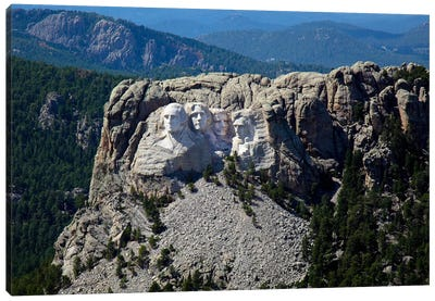 Aerial View, Mount Rushmore Canvas Art Print