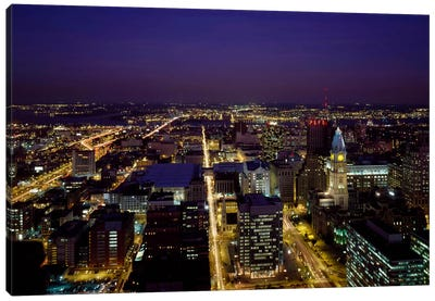 Aerial View, Philadelphia, Pennsylvania Canvas Art Print