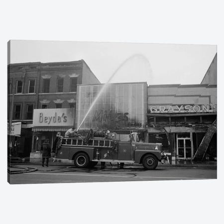 Aftermath of the April 1968 D.C. Riot Canvas Print #PCA426} by Print Collection Canvas Wall Art