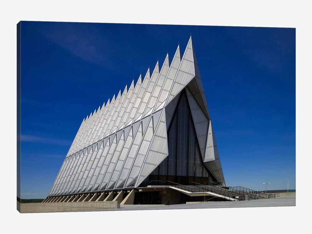 Air Force Academy Chapel Coloradon Springs by Print Collection 1-piece Art Print