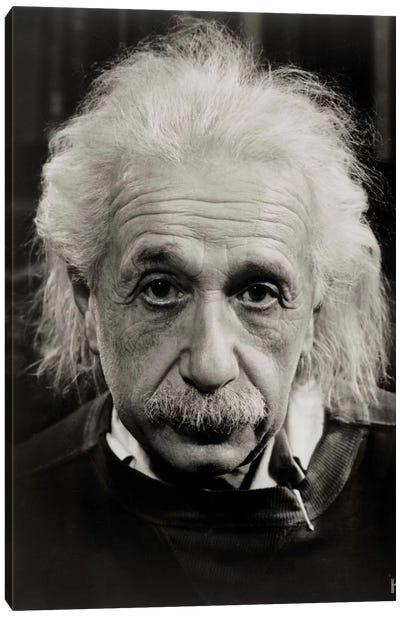 Albert Einstein Canvas Print #PCA431