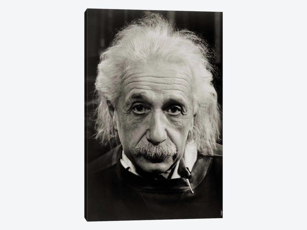Albert Einstein by Print Collection 1-piece Canvas Artwork