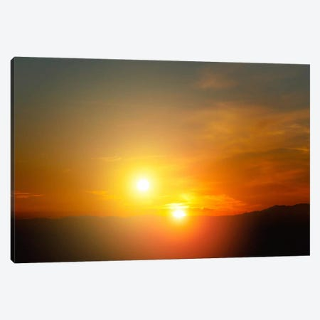 Alien Sunset Canvas Print #PCA432} by Print Collection Canvas Wall Art