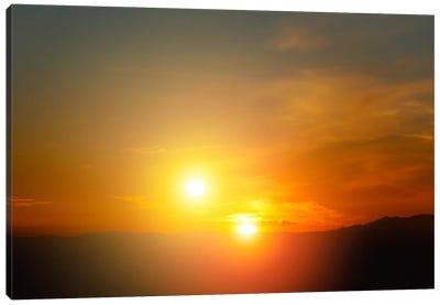 Alien Sunset Canvas Print #PCA432