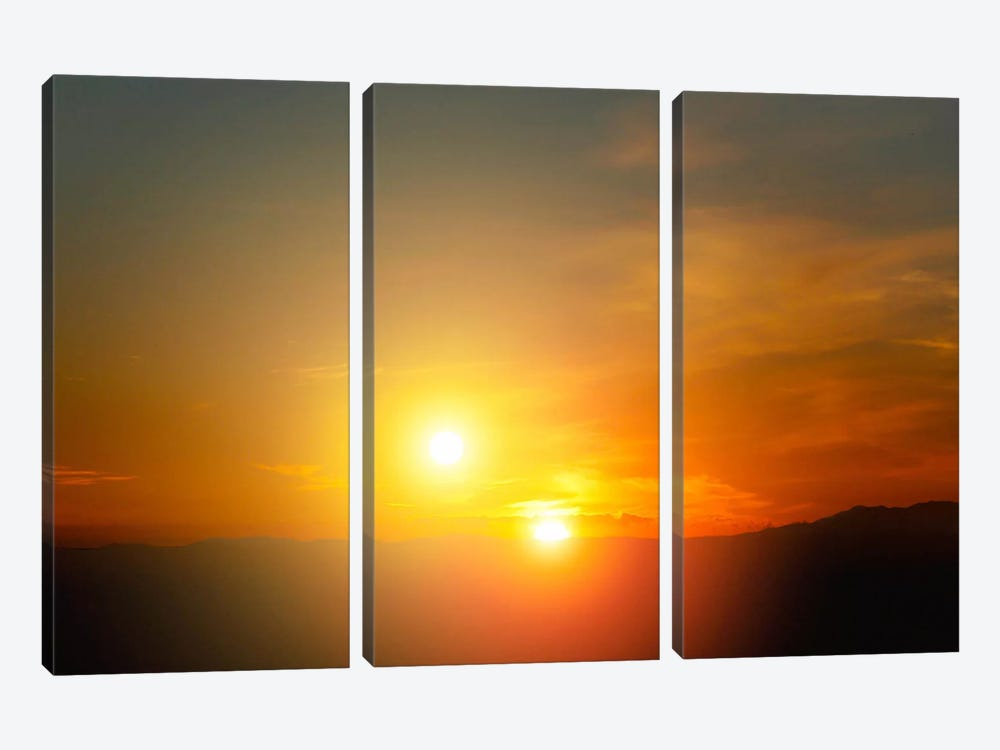 Alien Sunset by Print Collection 3-piece Art Print