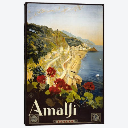 Amalfi Canvas Print #PCA434} by Print Collection Art Print