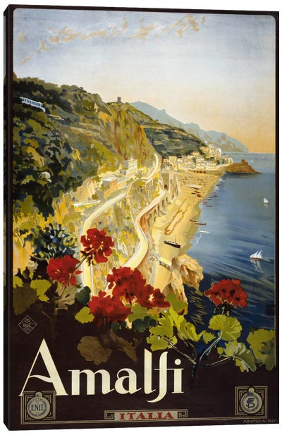 Amalfi Canvas Print #PCA434