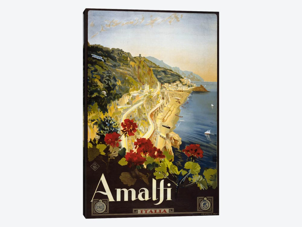 Amalfi by Print Collection 1-piece Canvas Print