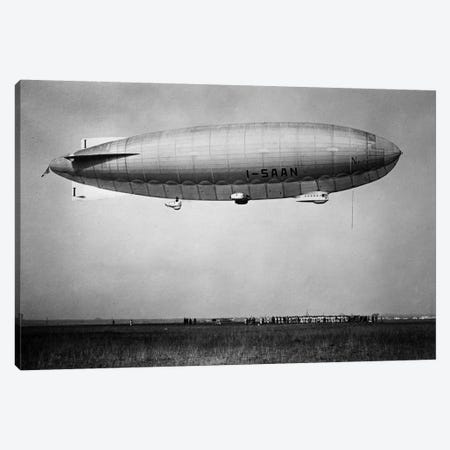 Amundsen (blimp) Canvas Print #PCA439} by Print Collection Canvas Wall Art