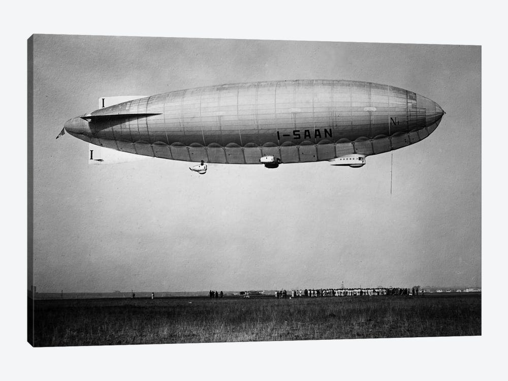 Amundsen (blimp) by Print Collection 1-piece Canvas Artwork