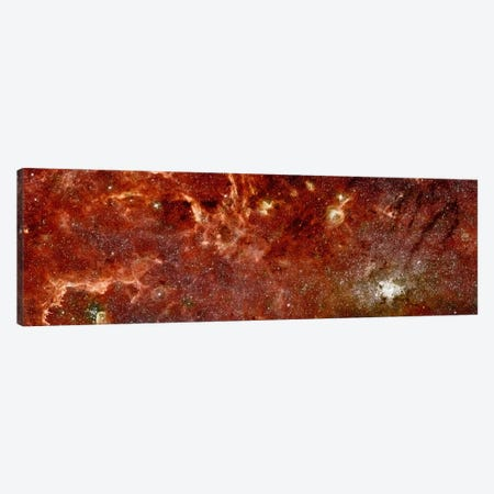 An Infrared View of the Galaxy Canvas Print #PCA440} by Print Collection Art Print