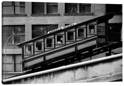 Angels Flight at Third & Hill Streets, Los Angeles Canvas Art Print