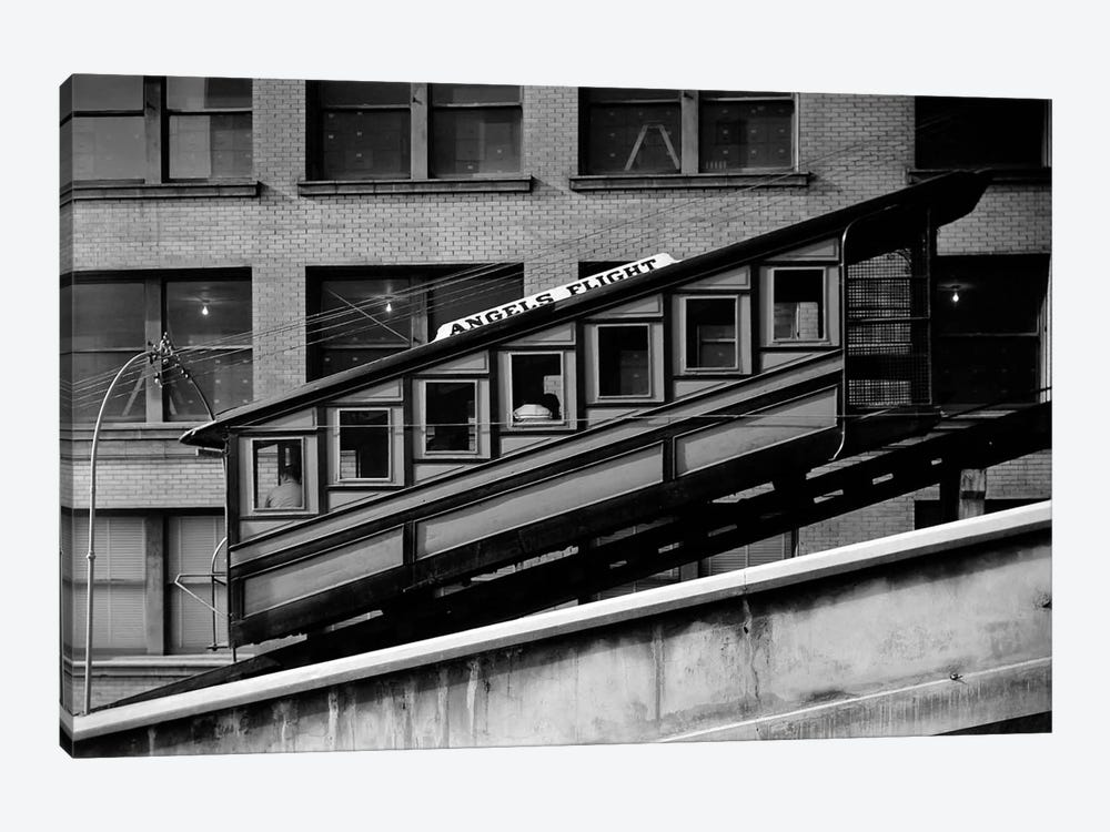 Angels Flight at Third & Hill Streets, Los Angeles by Print Collection 1-piece Canvas Artwork