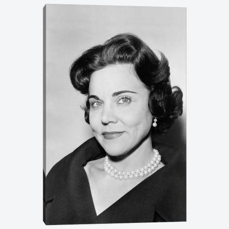 Ann Landers Portrait 1961 Canvas Print #PCA447} by Print Collection Canvas Wall Art
