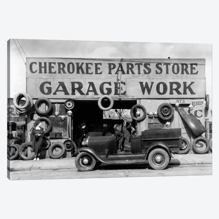 Auto Parts Shop. Atlanta, Georgia Canvas Print #PCA451} by Print Collection Canvas Artwork
