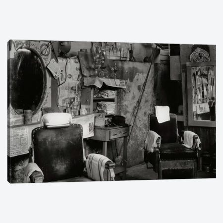 Barber Shop Canvas Print #PCA452} by Print Collection Canvas Art