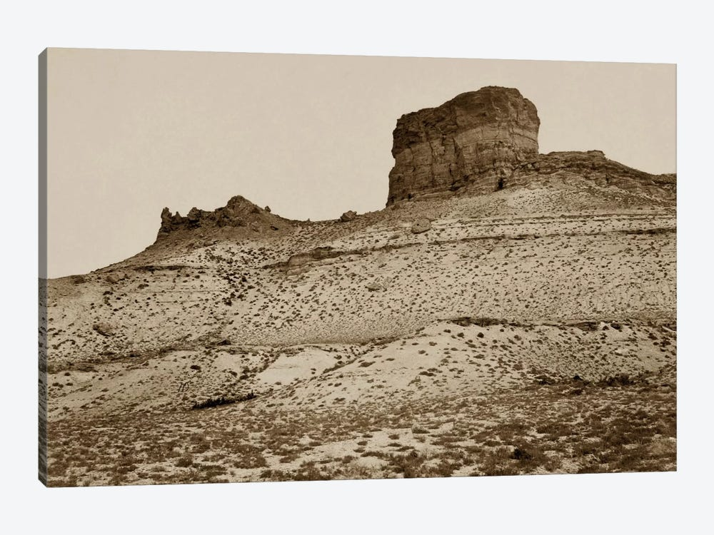 Buttes near Green River City, WY by Print Collection 1-piece Art Print