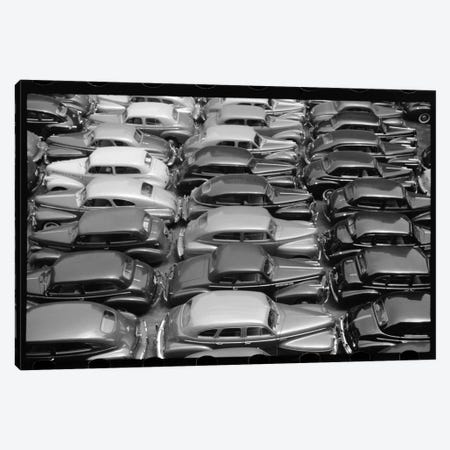 Chicago Parking Lot Canvas Print #PCA467} by Print Collection Canvas Artwork
