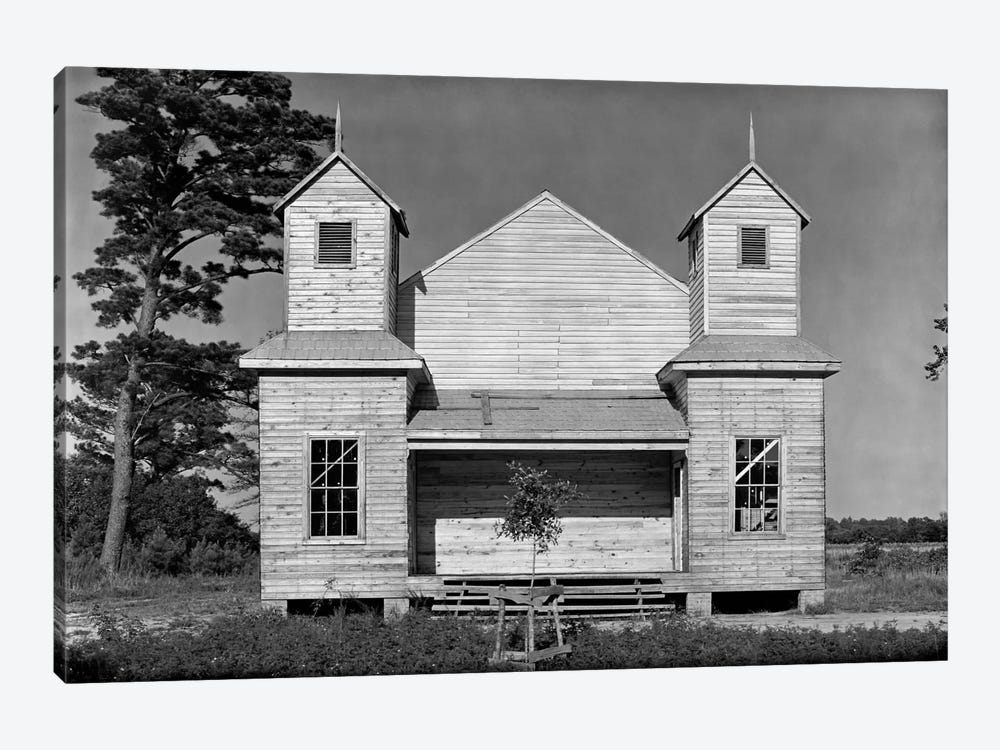 Church, Southeastern U.S., #2 by Print Collection 1-piece Canvas Art Print