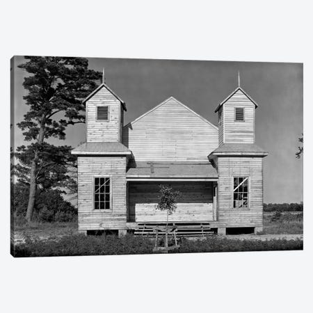 Church, Southeastern U.S., #2 Canvas Print #PCA469} by Print Collection Canvas Print