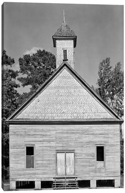 Church, Southeastern U.S. Canvas Print #PCA470
