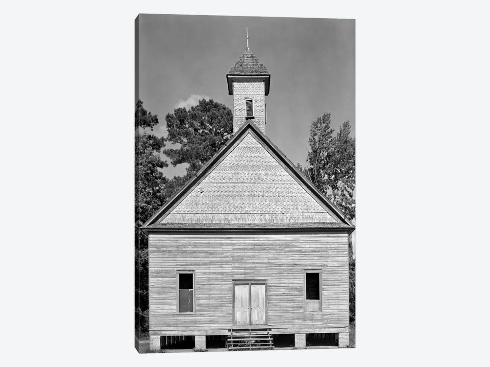 Church, Southeastern U.S. 1-piece Art Print
