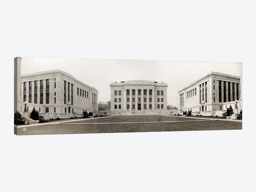 Harvard Medical School, Panorama by Print Collection 1-piece Canvas Artwork