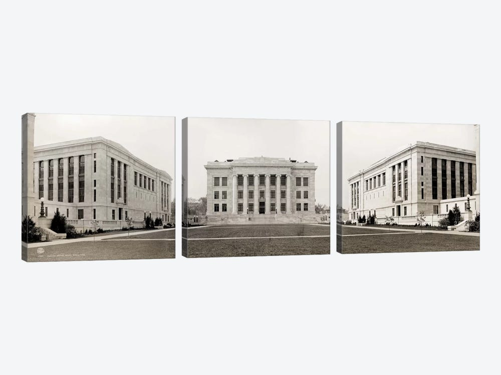 Harvard Medical School, Panorama by Print Collection 3-piece Canvas Artwork